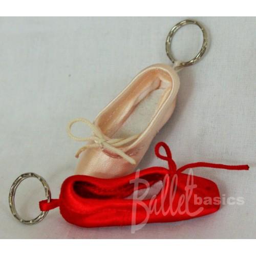Pointe Shoe Key Rings